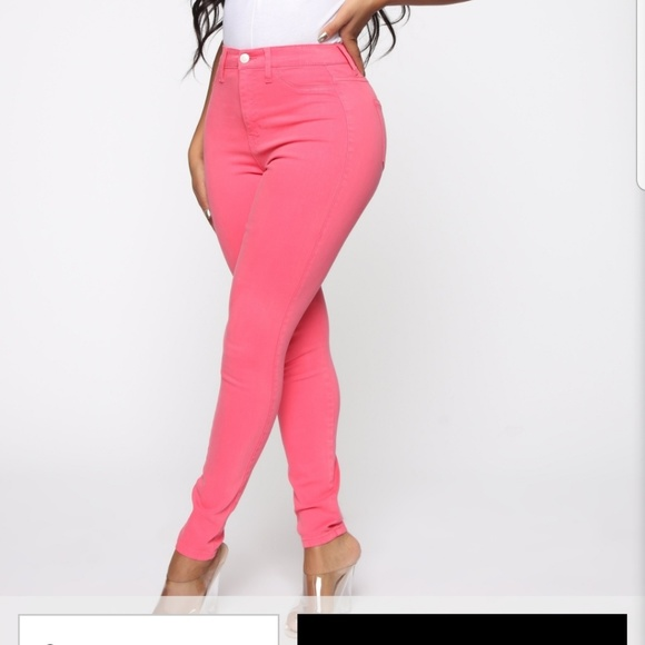 Fashion Nova Denim - High Rise Skinny Jeans